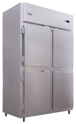 Geladeira Comercial Portas Cegas em Aço Inox - Frilux