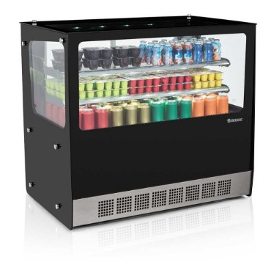 Vitrine Refrigerada Linha Gourmet Elegance Bancada - GGEB-110R Gelopar