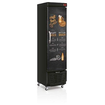 Refrigerador de Bebidas Cervejeira 230l Condensador estático - GRBA-230E CB Gelopar