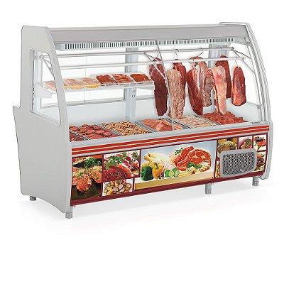 Expositor Frigorífico Açougue Depósito Refrigerado Pop Duplex - GCPC-210D Gelopar