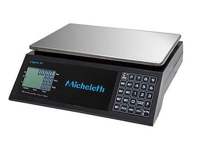Balança Eletrônica Computadora Comercial LEGGERA 30kg - Micheletti