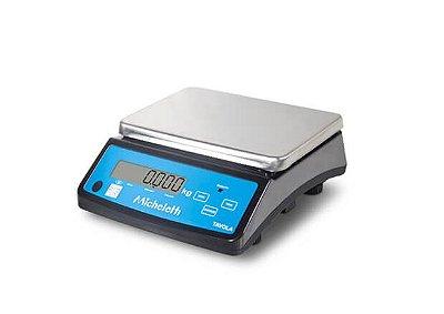 Balança Eletrônica Comercial Pesadora TAVOLA 100kg - Micheletti