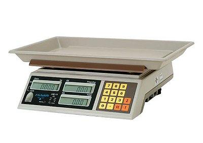 Balança Eletrônica Computadora Comercial Bateria AM-15 15kg - Micheletti