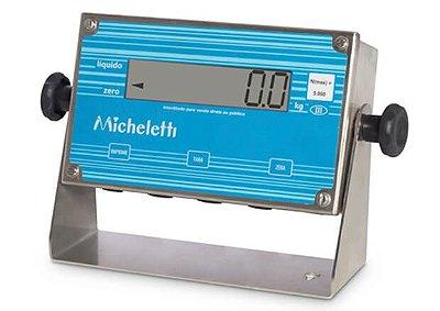 Indicador INOX LCD - MIC3 Micheletti