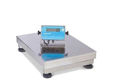 Balança Eletrônica Industrial de Inox 300kg - Micheletti