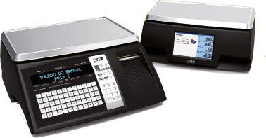 Balança Computadora com Impressora Integrada Prix 6  30kg - Toledo