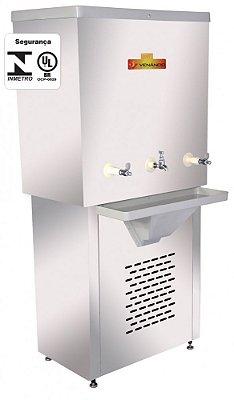 Recipiente Refrigerado para Água 150 Litros Inox - Venâncio