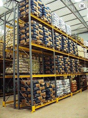 Sistema de Armazenagem Porta Paletes Armazenagem1 - Cristal Aço