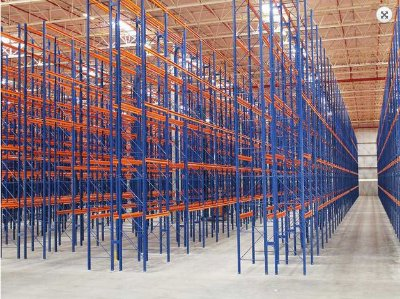 Sistema de Armazenagem Porta Paletes Armazenagem12 - Cristal Aço