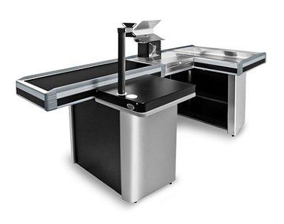 Check-out para Automação Comercial ref8 - Cristal Aço