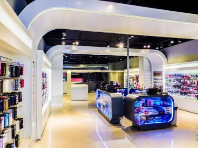 Expositores Sob Encomenda para Lojas - Art-Market Cristal Aço