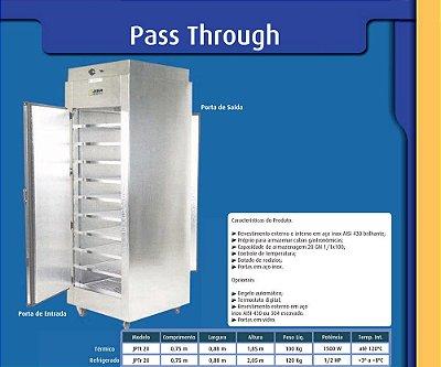 Pass Trough Térmico ou Refrigerado - Jabur
