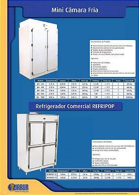 Mini Câmara Fria ou Refrigerador Comercial Refripop - Jabur