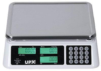 Balança Eletrônica Wind C - Branca 30 kg - Upx Solution