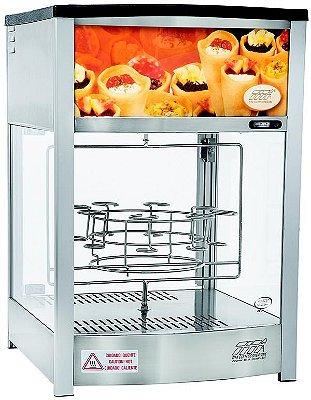 Estufa Linha Vapor Giratório 409G Cone Pizza - Titã