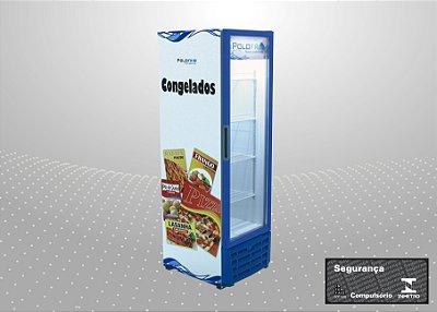Visa cooler congelados 370L - Polofrio