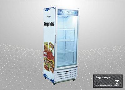 Visa cooler congelados 560L - Polofrio