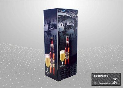 Cervejeira 450L Refrigeração e exposição de cervejas - Polofrio
