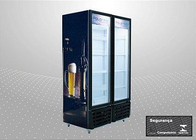 Cervejeira 830L Refrigeração e exposição de cervejas - Polofrio