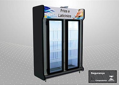 Conveniência classic 1,50 m Refrigeração e exposição - Polofrio