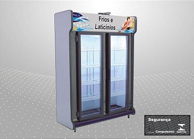 Conveniência europeu 1,50 m Refrigeração e exposição - Polofrio