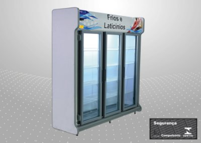 Conveniência europeu 2,00 m Refrigeração e exposição - Polofrio