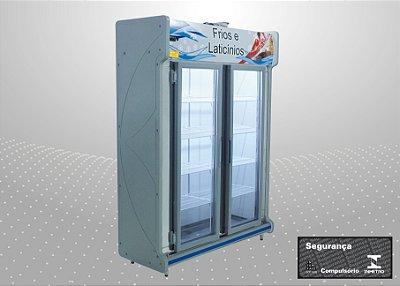 Conveniência premium 1,50 m Refrigeração e exposição - Polofrio