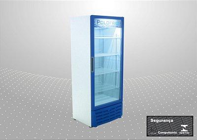Visa cooler 450L Refrigeração e exposição de bebidas - Polofrio