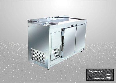 Balcão de encosto Refrigerado de 1,60 m - Polofrio