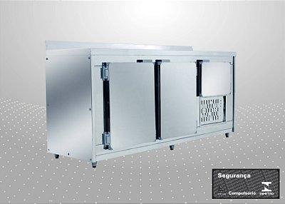 Balcão de encosto Refrigerado de 2,00 m - Polofrio