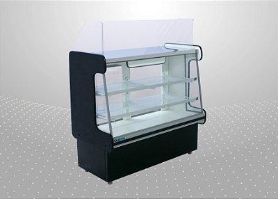 Balcão caixa classic e expositor de Produtos de 1,25 m - Polofrio