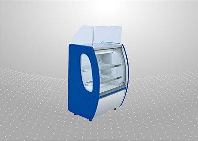 Balcão caixa expositor premium 1,25 m - Polofrio