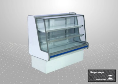 Balcão refrigerado pop luxo 1,00 m - Polofrio