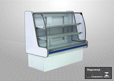 Balcão refrigerado pop luxo 1,25 m - Polofrio