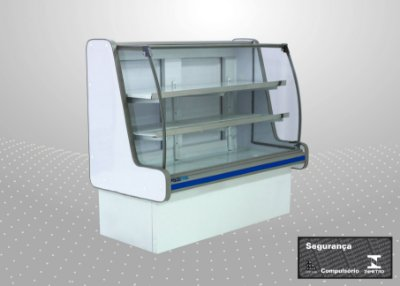 Balcão refrigerado pop luxo 1,80 m - Polofrio