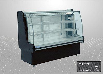 Vitrine refrigerada classic 1,25 m - Polofrio