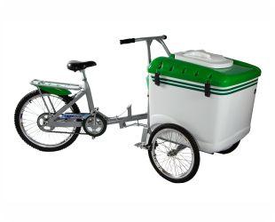 Carrinho Triciclo de Picolé 165 Litros para 550 a 650 picolés - Thermototal