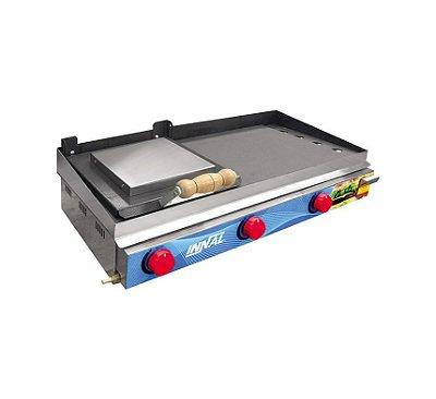 Chapa Bifeteira Standard opções de 1 a 5 Queimadores - Innal