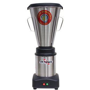 Liquidificador Comercial Inox, Copo Monobloco Inox - LS-06MB-N Skymsen