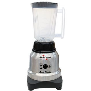 Liquidificador Inox Copo Plástico, Alta Rotação, 1,5 Litros - Silencioso - Lts-1,5-N - Skymsen