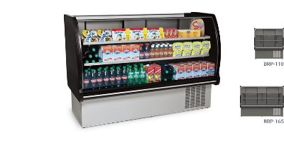 Balcão Refrigerado Linha Black Classic BRP-110/BRP-165 - Conservex