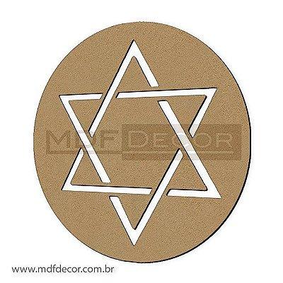 Mand-031 - Mandala Estrela de Davi