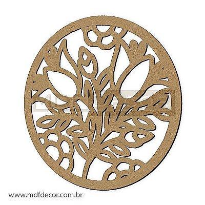 Mand-036 - Mandala Buque de Flores