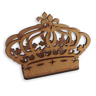 Porta Guardanapo de Coroa em Mdf - LS002