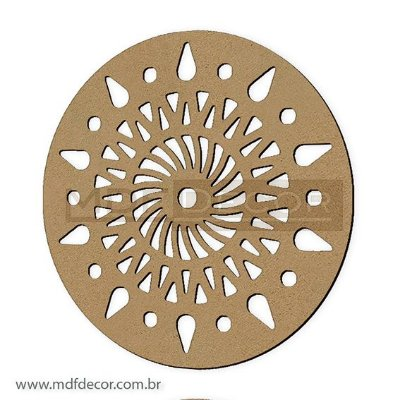 Mand-042 - Mandala Mdf Espiral