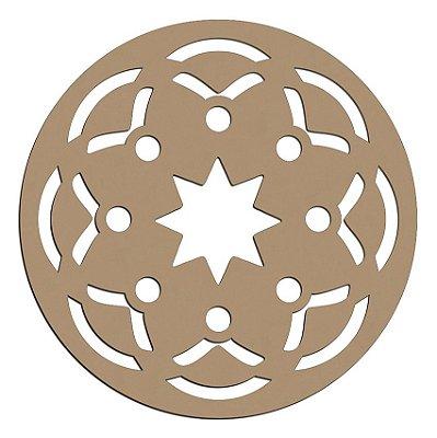 Mandala de Mdf Alegria - Mand-048