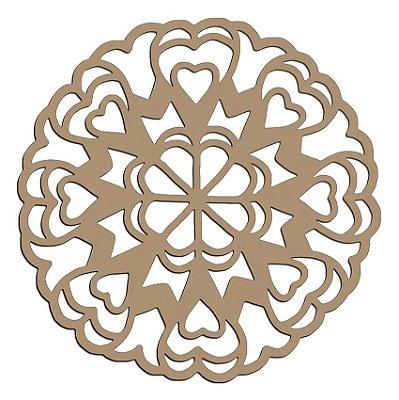 Mandala de Mdf Love - Mand-047