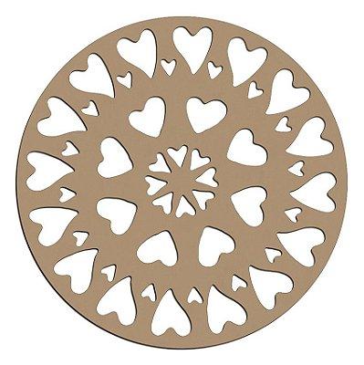 Mandala de Mdf Amor- Mand-052