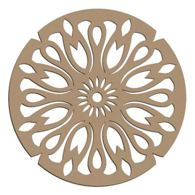 Mandala de Mdf Vitro - Mand-057
