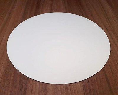 Sousplat em mdf - 35x35 cm - Modelo PREMIUM - Face Mdf Branco